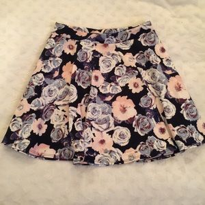 NWOT! Super gorgeous Frenchi Floral skater skirt!